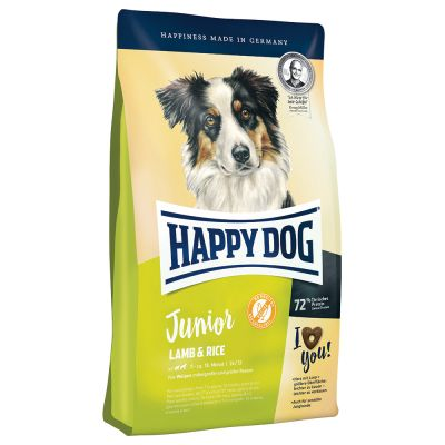 Happy Dog Supreme Young Junior Lamb & Rice - 10 kg