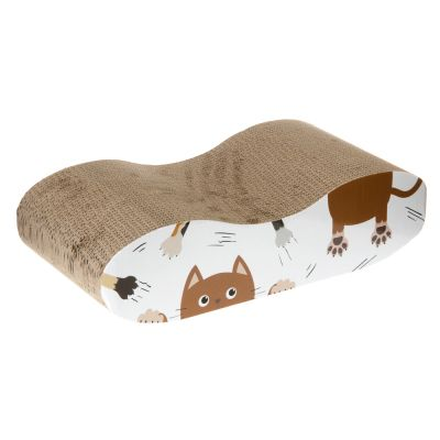 Cat Lounge-raapimiskaluste - P 48 x L 24 x K 13 cm