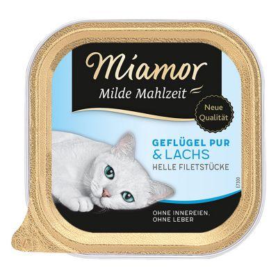Miamor Mild Meal 6 x 100 g - siipikarja & kasvikset