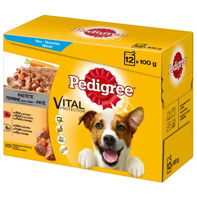 Pedigree Pouch in Paté -monipakkaus - 12 x 100 g