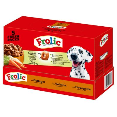 Frolic Complete con ave - 2 x 7,5 kg - Pack Ahorro