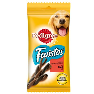 Pedigree Twistos - 8 x kana