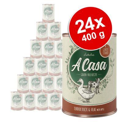 Lukullus A Casa 24 x 400 g - Pack Ahorro - Sabroso pollo con hierbas