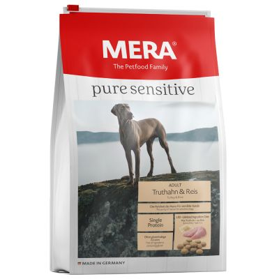 MERA pure sensitive Adult Turkey & Rice - 12,5 kg