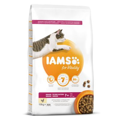IAMS for Vitality Senior Chicken - 10 kg