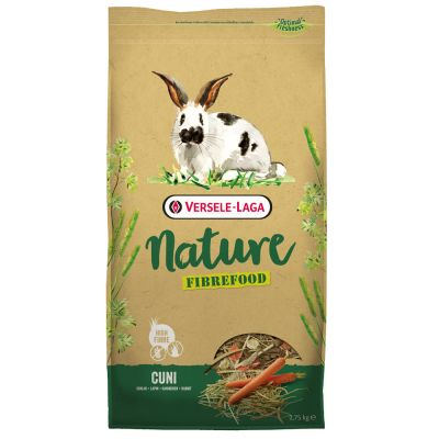 Versele-Laga Nature Fibrefood Cuni - 2 x 8 kg*