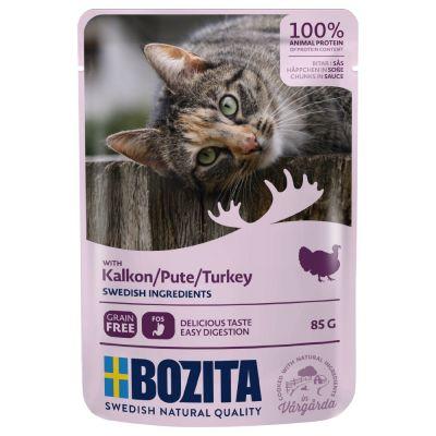 Bozita Chunks in Gravy Pouch 12 x 85 g - kana