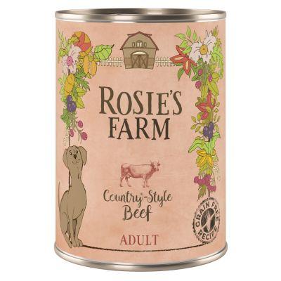 Výhodné balení Rosie's Farm Adult 24 x 400 g - Smíšené balení (3 druhy)