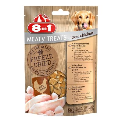 8in1 Meaty Treats - ankka & omena (50 g)