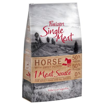 Purizon Single Meat Adult Horse & Sweet Potato - viljaton - 12 kg