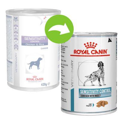 Royal Canin Sensitivity - Veterinary Diet - 12 x 420 g
