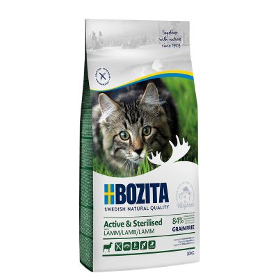 Bozita Grainfree Active & Sterilised Lamb - 2 x 10 kg