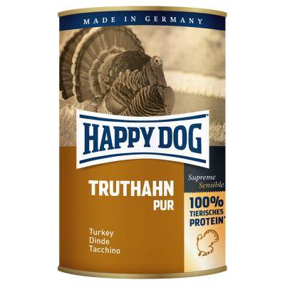Happy Dog Pur 6 x 400 g - lohi