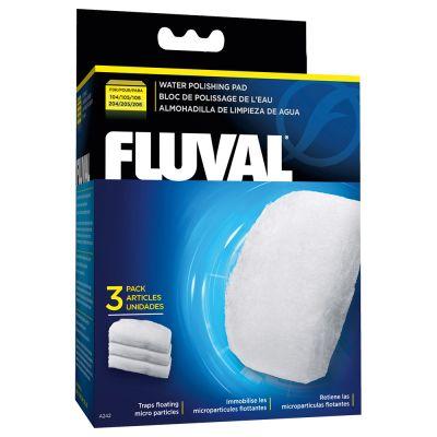 Fluval Water Polishing Pads -hienosuodatintyynyt - 6 kpl setti, 304/305 + 404/405