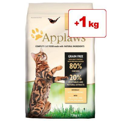 Applaws kissanruoka 7,5 kg: 6,5 kg + 1 kg kaupan päälle! - Chicken (7,5 kg)