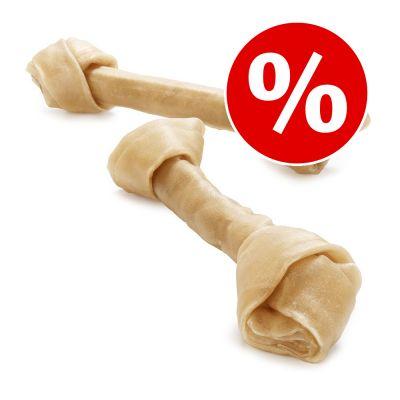 Säästöpakkaus: Barkoo-naudannahkapuruluut, solmittu, 12 tai 24 kpl - 12 kpl à 25 cm (2,16 kg)