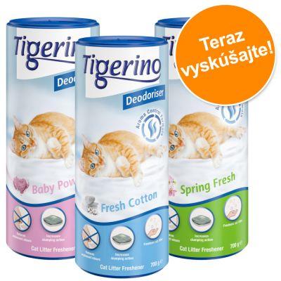 Tigerino Deodoriser Balenie na skúšku - 3 varianty vôní (3 x 700 g)