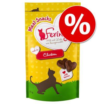 Feringa-liha- & kalaherkut 35 g kokeiluhintaan! - lohi