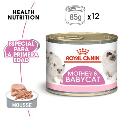 Royal Canin Mother & Babycat Mousse - 24 x 195 g