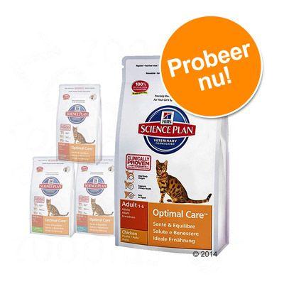 hill-optimal-care-kattenvoer-voordelig-probeerpakket-tonijn-konijn-kip-lam