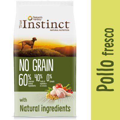 Nature's Variety True Instinct No Grain Medium-Maxi con pollo - 12 kg