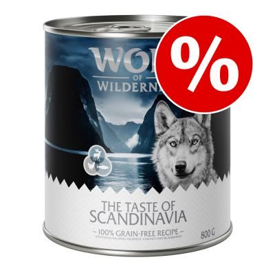 "Säästöpakkaus: Wolf of Wilderness ""The Taste Of"" 24 x 800 g - The Taste of The Outback"