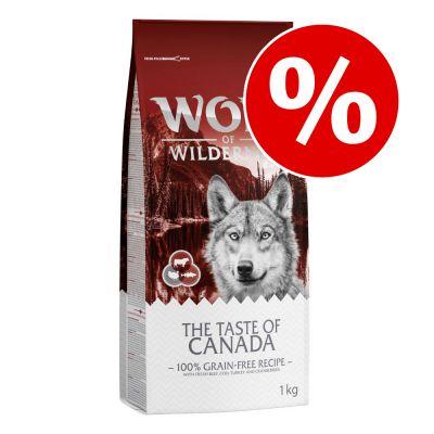 Wolf of Wilderness kuivaruokaa 1 kg kokeiluhintaan! - Wild Hills - ankka