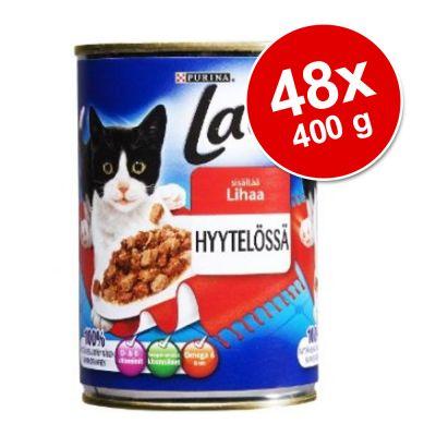 Latz hyytelössä -megapakkaus 48 x 400 g – nauta ja kana