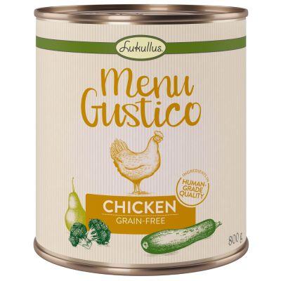 """Lukullus """"Menu Gustico"""" - Huhn mit Brokkoli, Zucchini und Birne"""