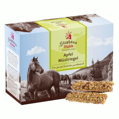 Stephans Mühle Paarden-Mueslireep Appel - 24 repen à 50 g