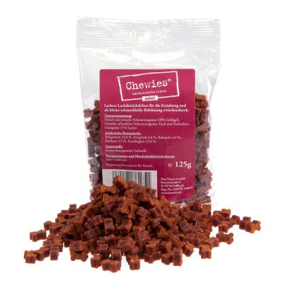 Chewies Mini Bone Treats 125g - Saver Pack: 4 X Poultry
