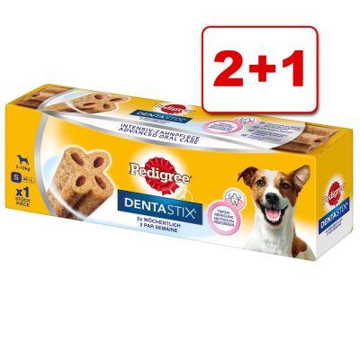 3 x Pedigree Dentastix Twice Weekly: 2 + 1 kaupan päälle! - suurikokoisille koirille (3 x 120 g)