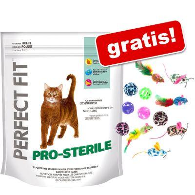 23-store-poser-perfect-fit-kattelegetoj-gratis-sensitive-med-kylling-3-x-14-kg