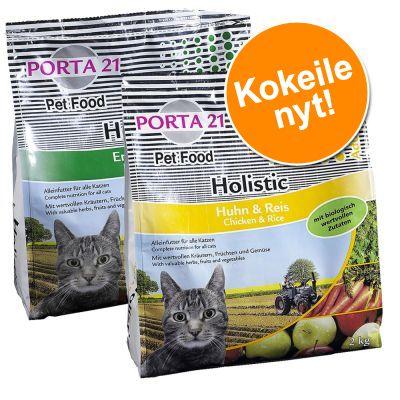 Porta 21 -kokeilupakkaus: Chicken & Rice 2 kg + Duck & Rice 2 kg - 2 kg + 2 kg (Chicken & Rice + Duck & Rice)