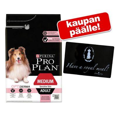 12/14 kg Pro Plan koiranruoka + King of Dogs -kupinalusta kaupan päälle! - All Size Adult Light/Sterilised OPTIWEIGHT (14 kg)