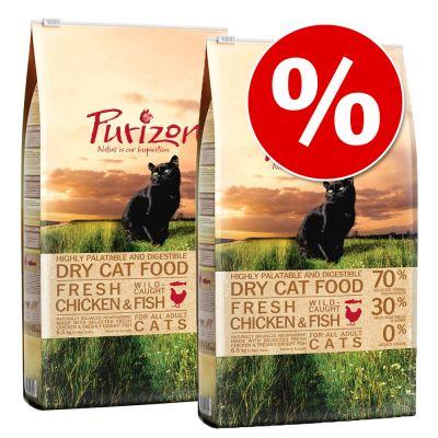 Purizon-säästöpakkaus - Adult Lamb & Fish (2 x 6,5 kg)