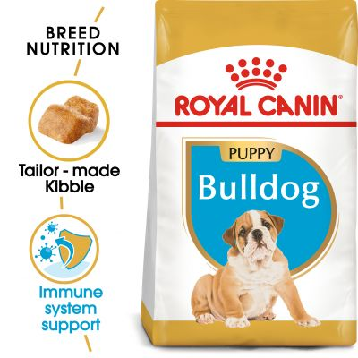 Royal Canin Breed Bulldog Puppy - 12 kg
