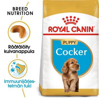 Royal Canin Breed Cocker Puppy - 3 kg