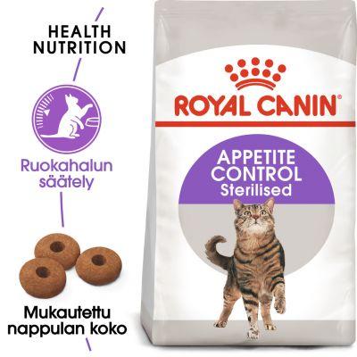 Royal Canin Sterilised Appetite Control - 2 kg