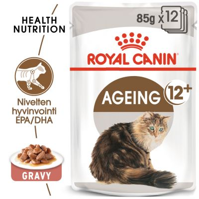 Royal Canin Ageing +12 in Gravy - 12 x 85 g