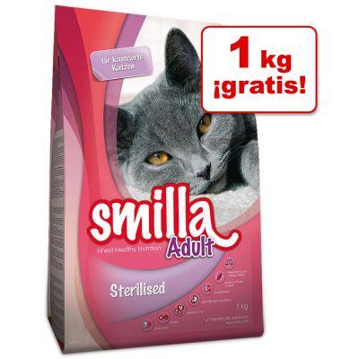 Smilla 4 kg pienso para gatos en oferta: 3 + 1 kg ¡gratis! - Kitten