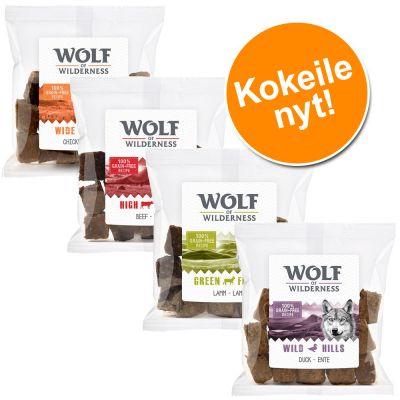 Wolf of Wilderness Snack -makupalat 720 g - mix 4 makua: kana, ankka, lammas ja nauta