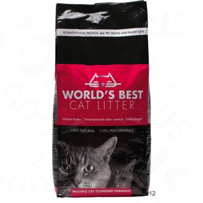 World's Best Cat Litter extra stark kattsand – 12,7 kg