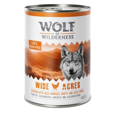 "Wolf of Wilderness Adult ""Wide Acres"" - Huhn"