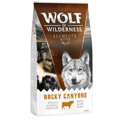 "Wolf of Wilderness Elements ""Rocky Canyons"" - Rund"