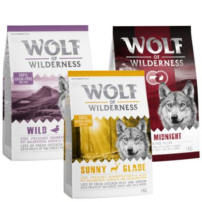 Wolf of Wilderness Adult - Mixpaket II