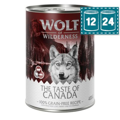 "Sparpaket Wolf of Wilderness ""The Taste of Canada"""
