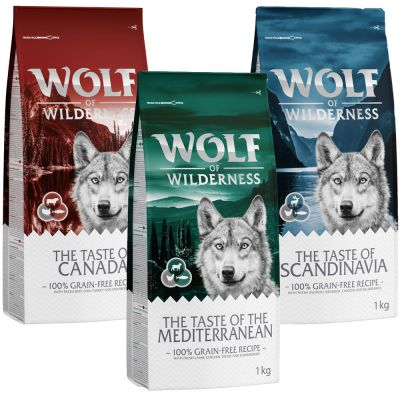 "Wolf of Wilderness ""The Taste of"" - Mixpaket"