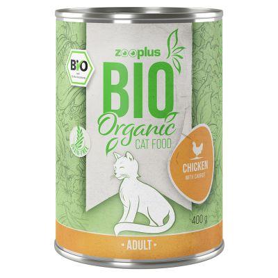 zooplus Bio 1 x 400 g kuře s karotkou