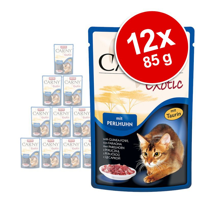 Animonda Carny Exotic 12 x 85 g – kenguru